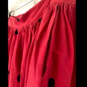 Unique Vintage Skirts - Unique Vintage Watermelon Skirt
